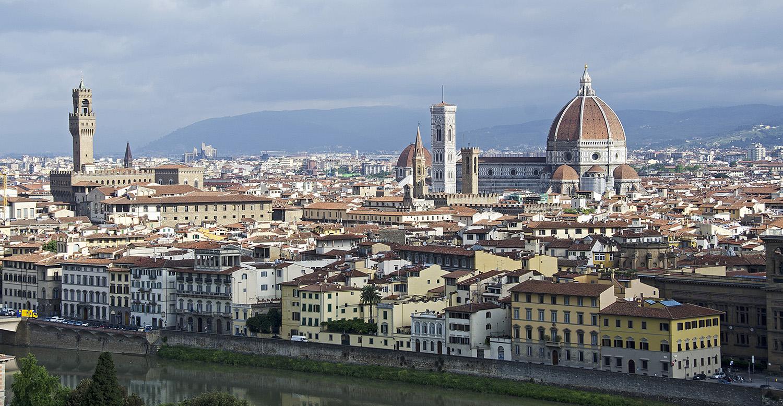 Florence vanaf het Piazzale Michelangelo