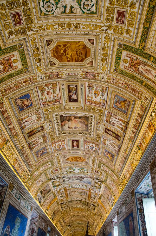Rome Vaticaan, Galeria Cartes Geografica