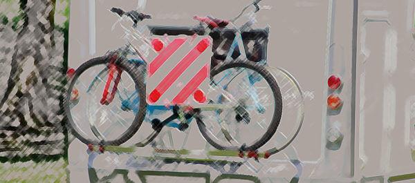 Accessoires, fietsenrek