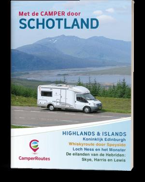 Cover Met de Camper door Schotland