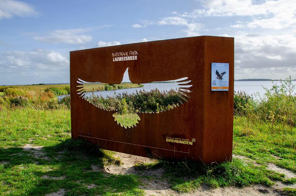 De zeearend, Lauwersmeer