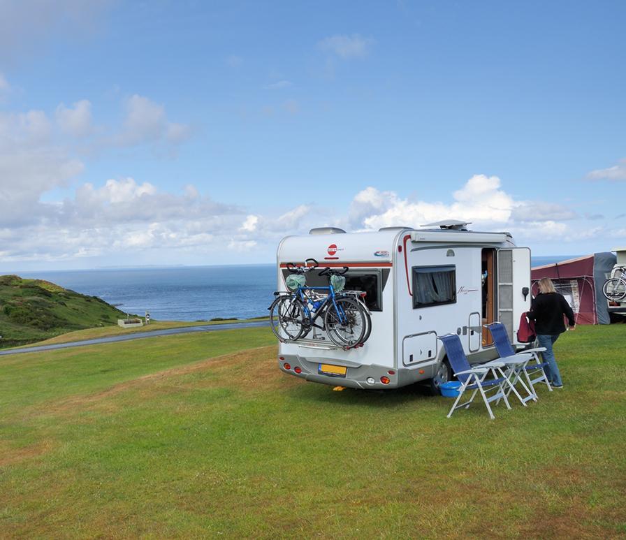 Camping Mortehoe, Devon, Zuid-Engeland