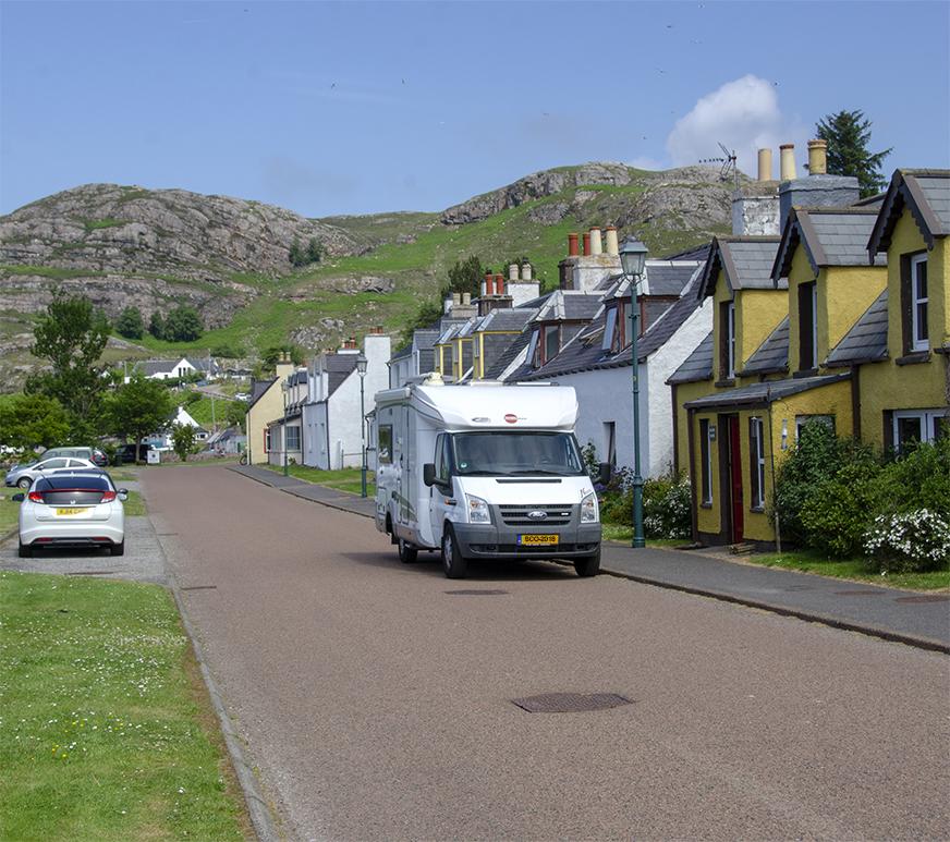 Shieldaig, Schotland aan de NorthCoast-500