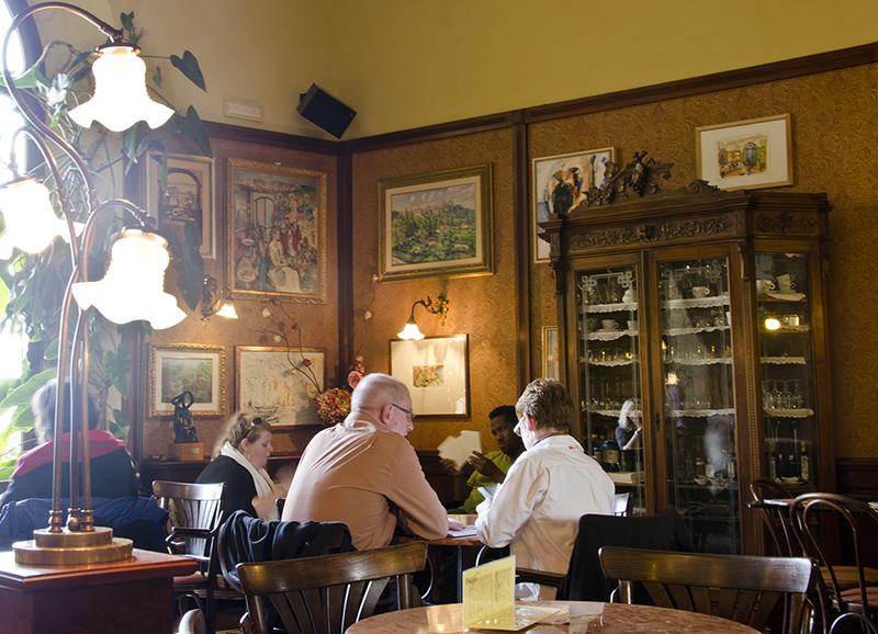 Caffe Poliziano in Montepulciano