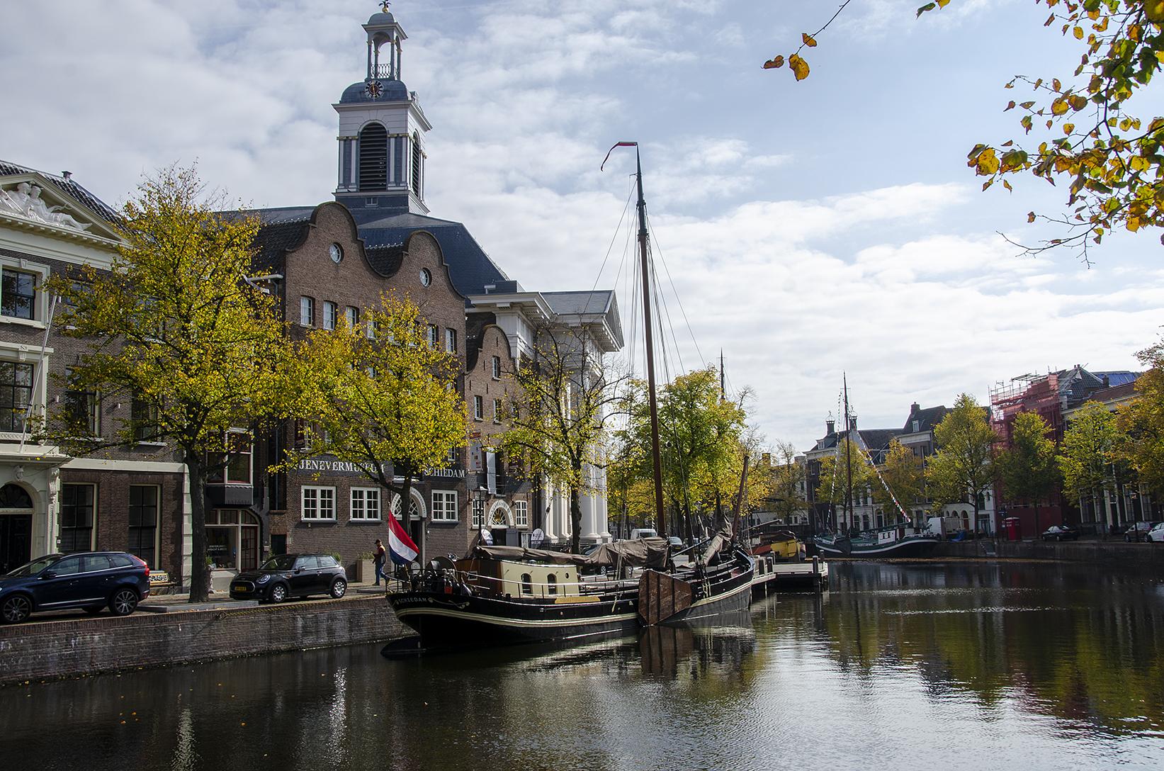 Jenevermuseum aan de Schie in Schiedam