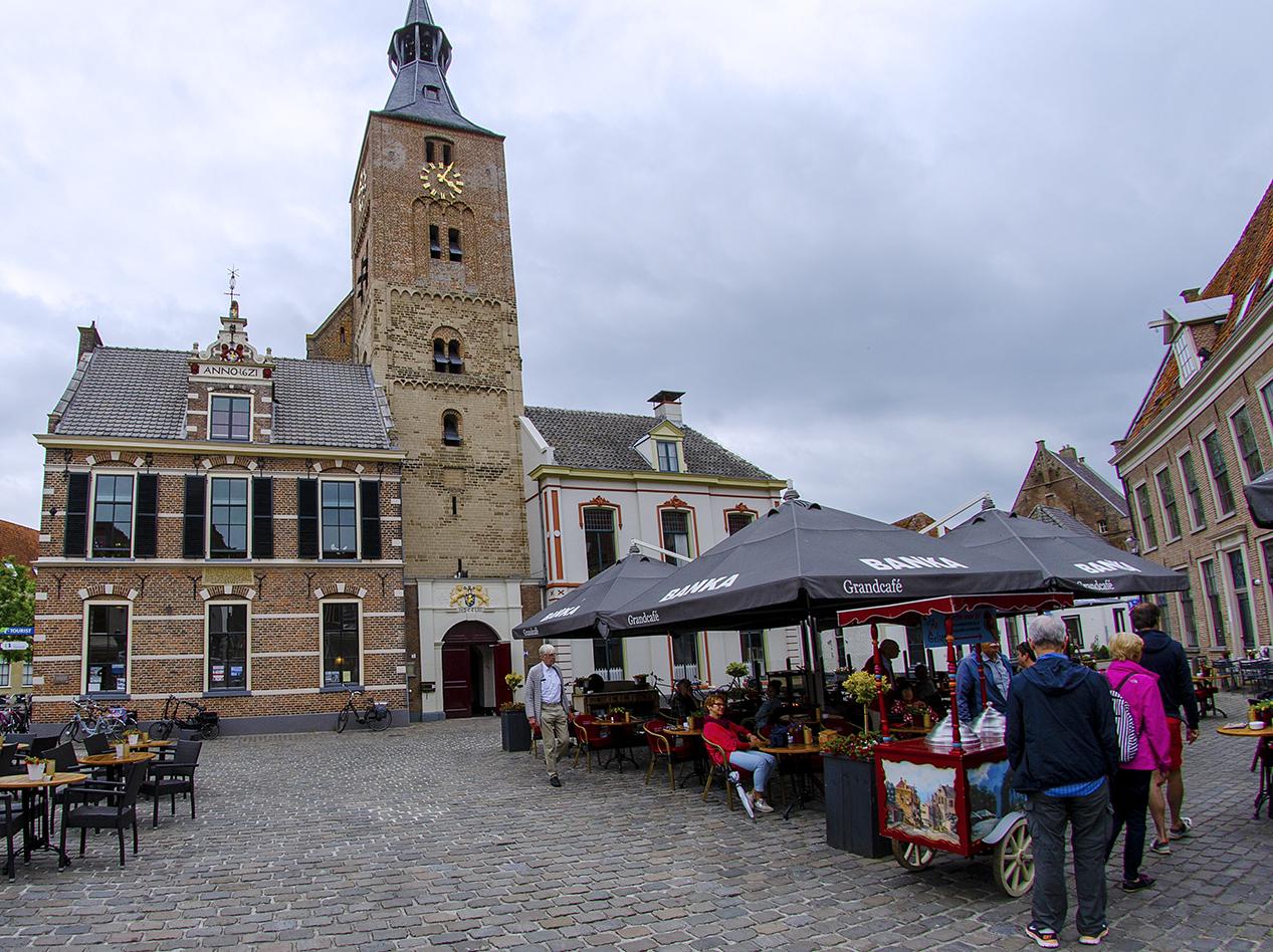 Marktplein in Hattem