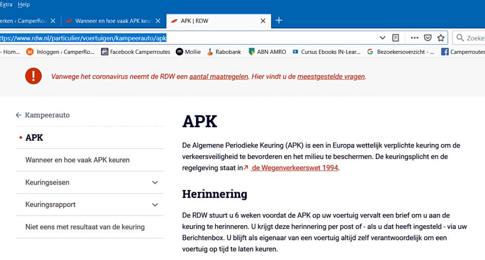 RDW-site APK